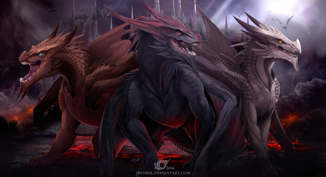 My Dragons by IrenBee