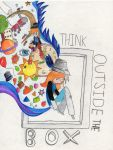 Think outside the box by Starbotcar