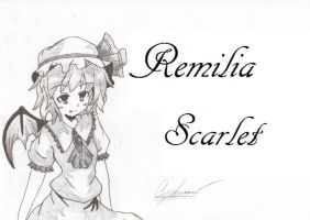Remilia Scarlet by AustrianFireFox