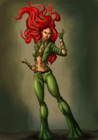 BatLord Poison ivy concept by dushans