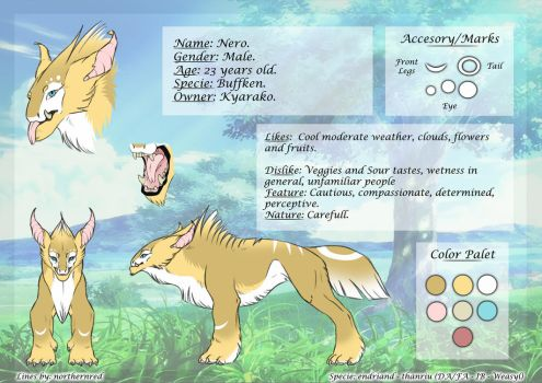 Buffken ADOPT 02 -SOLD- by Endriand