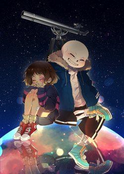 [Undertale]Are you the star? by NoahXica