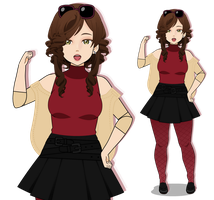 New persona - Melissa wants to battle! by MrsRendezvous