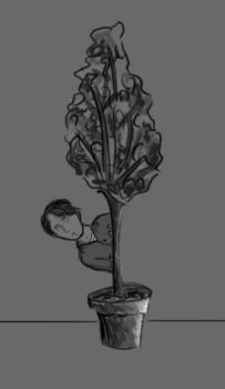 Benedick...and the Ficus by moonbeam33090