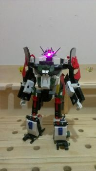 Transformer Made From Found Object by nykgmr