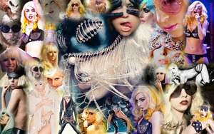 Lady GaGa Wallpaper2 by PuppetMistress666