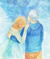 Jack and Elsa by zero-Luck