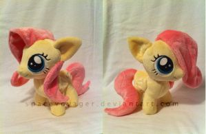 Fluttershy filly by PlanetPlush