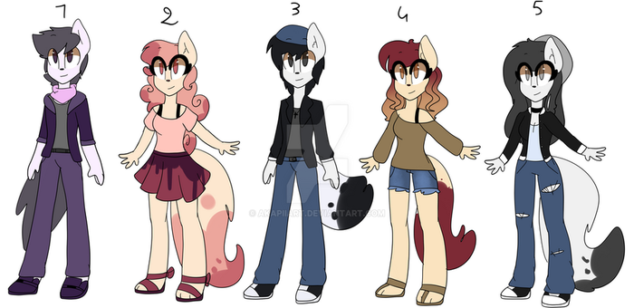 Furry cheap adopts (OPEN 3/5) by AkapiiART