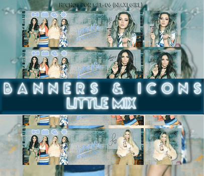Pack Icons/Banners (Little Mix) by Mel-06