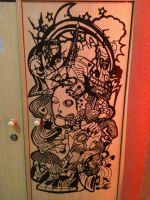 Cupboard of Expressions by JoLawlietDesign
