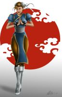 Chun li 2014 by Art-Of-Nathan-Wright