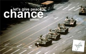 let's give peace a chance by ariguanas