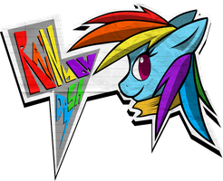 MLP - Rainbow Dash (CONTEST ENTRY) by DatPonyPL