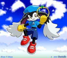 Klonoa Sky by FoxTails