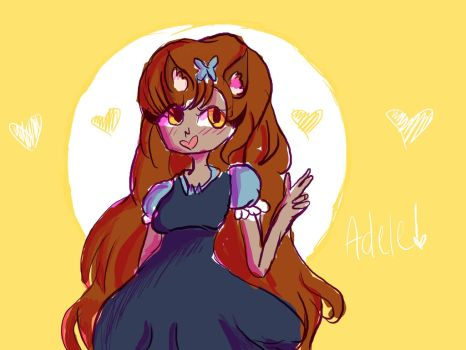 Adele my main Oc by CutiePotatoeOnline