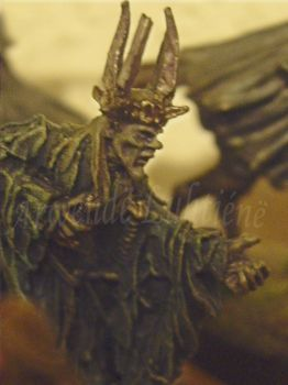 The Witch-king of Angmar in twilight-form by ArwendeLuhtiene