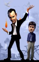 AD: Michael and GOB by infernovball