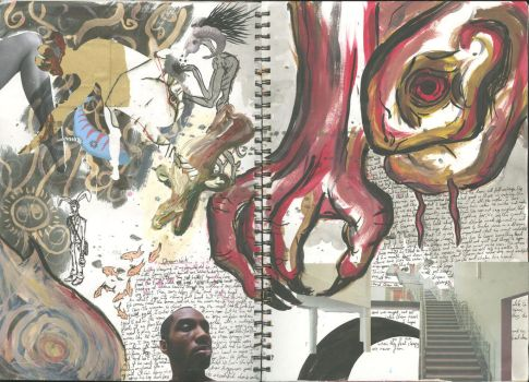 Personal Sketchbook 13 by TheAlmightyPillock