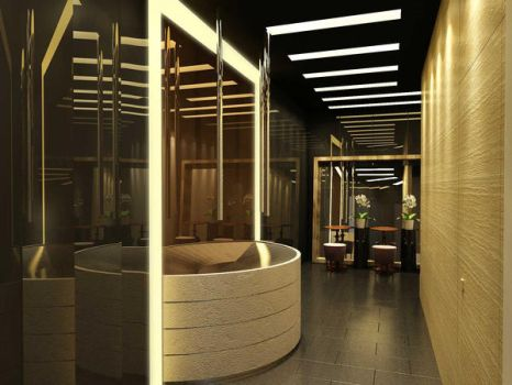 restroom by LOSD