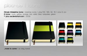 Moleskine Icons by pica-ae