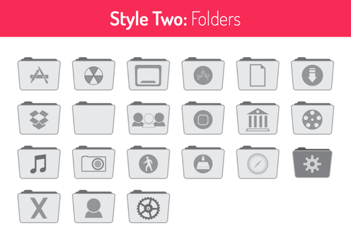Style Two Folders by hamzasaleem