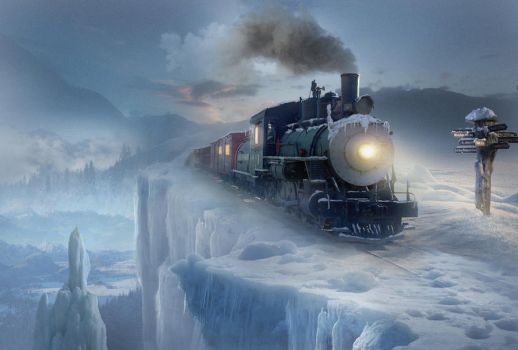 Polar express by ElenaDudina