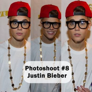 Photoshoot #8 - Justin Bieber by Geeerii
