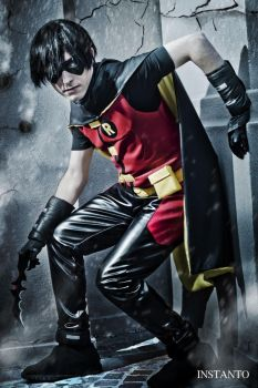 Young Justice - Robin by eriolcosplays