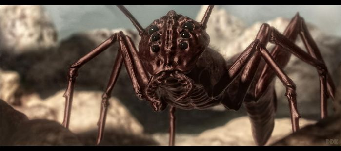 Fantasy insect by Dave-DK