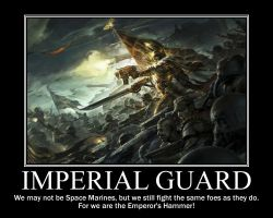 Imperial Guard redone by Arreal