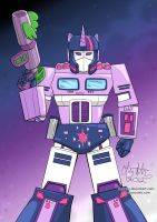 My Little Pwnformers: Twilight Prime by lizstaley