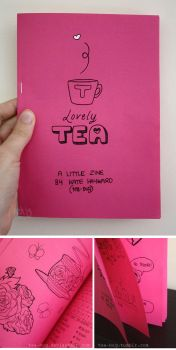 Lovely Tea - a mini zine by tea-bug