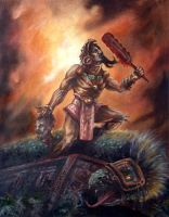 Aztec Victory by RUBArt