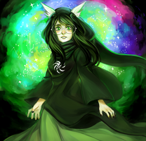 Witch of Space by hisusu