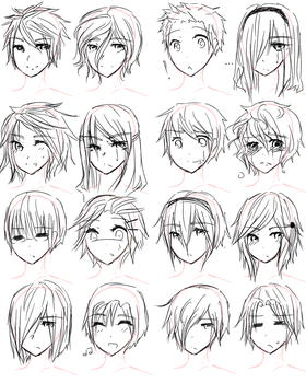 Guy Hairstyles by Aii-luv