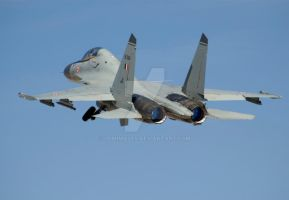 Red Flag Sukhoi-30 Departure by jdmimages