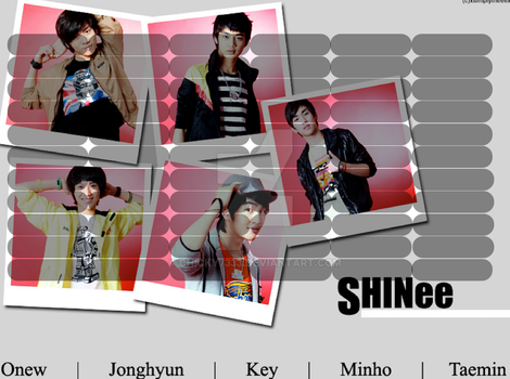 SHINee timetable#7 by chicky7333