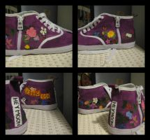 Pretty. Odd. Shoes. by TheeDreamOnKid