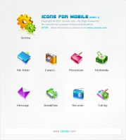 Icons for Mobile by zerode