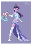 Gun Mage Twilight Sparkle by Skirtzzz