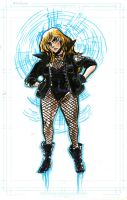 WizardWorld Sketches: Black Canary by timberking