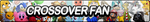 Crossover Fan Button by ButtonsMaker