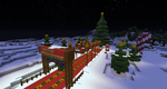 Merry Christmas from Minecraft by Neutral-Dreamer