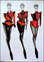 Red fall collection 1. by Verenique