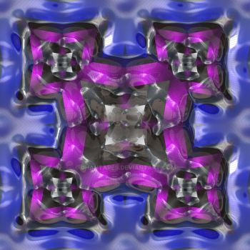fractal pattern plastic coated by jhantares