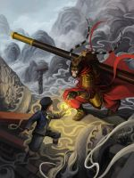 A Marble and the Monkey King by Luches