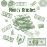Money Brushes by Mistify24