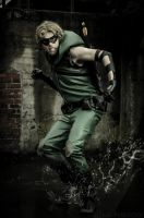 Green Arrow(Green Arrow Showcase) by NishiNao