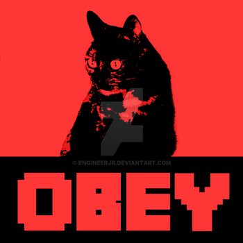 OBEY the real one by engineerJR
